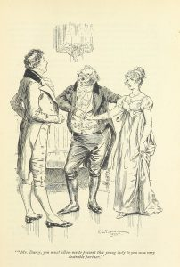 """British Library digitised image from page 61 of """"Pride and prejudice"""""""